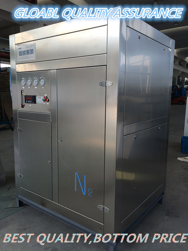 Stainless Steel Small Nitrogen Generator , High Purity Nitrogen Generator PSA