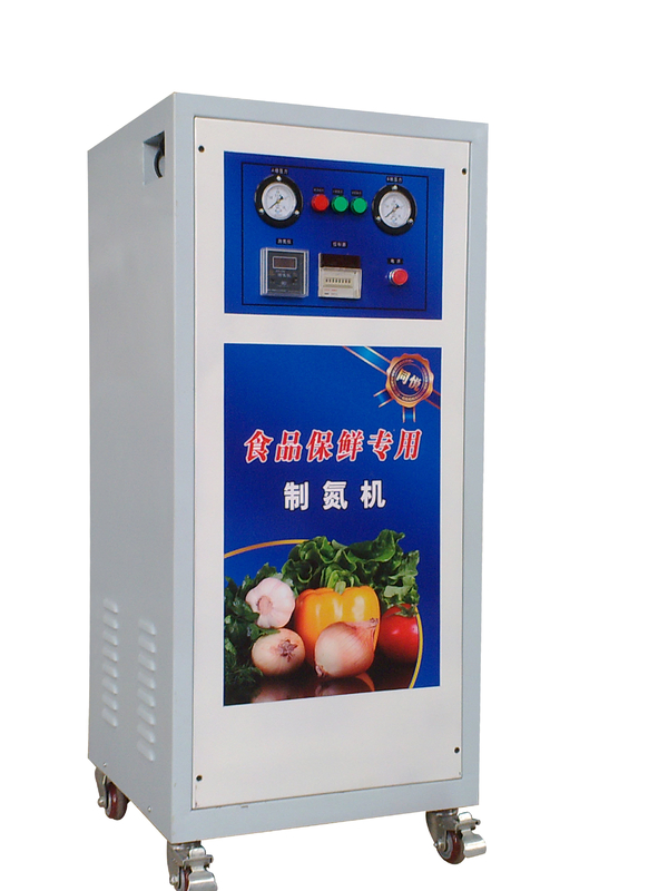 High Purity Mobile Nitrogen Gas Generator Carbon Steel PSA N2 Generator