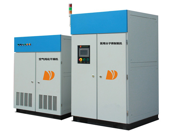 Fully Automatic Oxygen Generating System , Carbon Steel Industrial Oxygen Generators