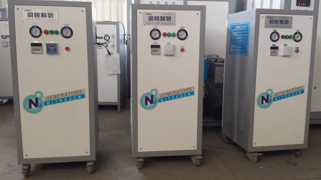 High Purity Stainless Steel Small Nitrogen Generator For Nitrogen Puffing