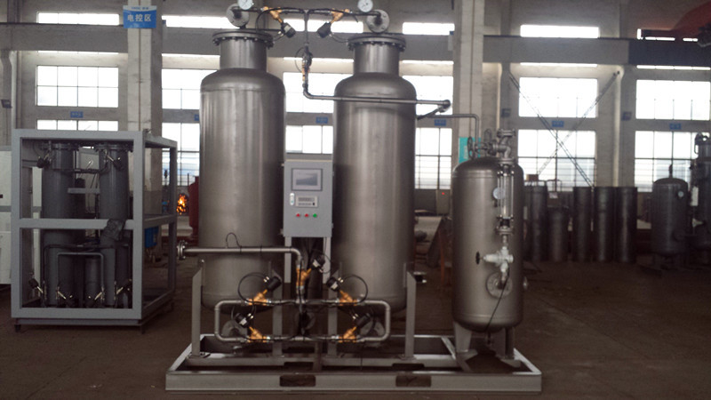 99.9% High Pressure Nitrogen Generator , 25 Bars N2 Generation Plant With Booster Pump