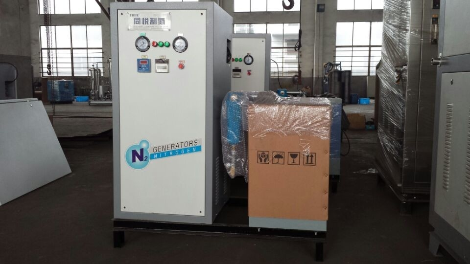 All In One Nitrogen Gas Generator , Food Packing Nitrogen Gas System