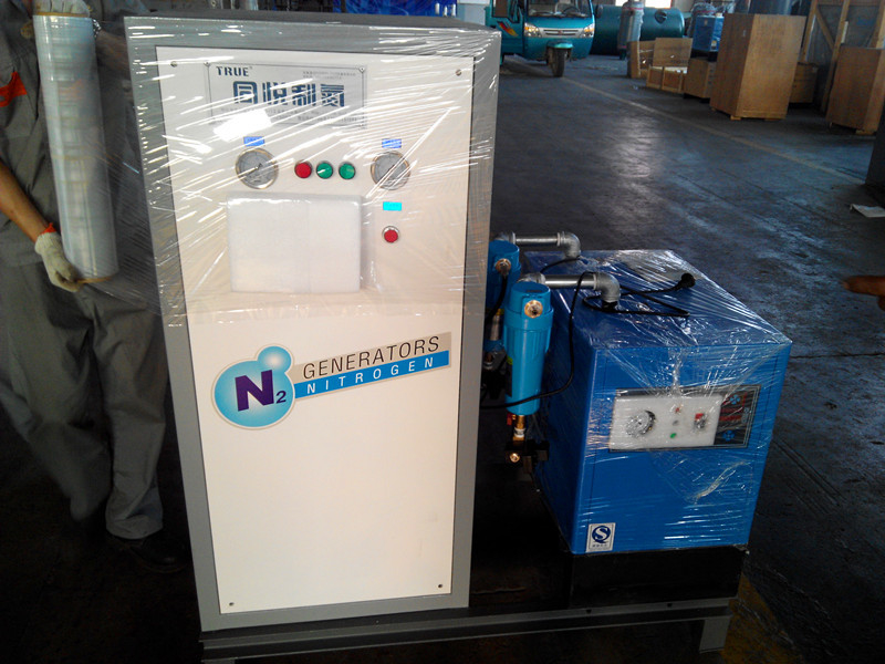 PSA Type Gas Separation Equipment 30Nm3 / H For Cake / Biscuit Plant