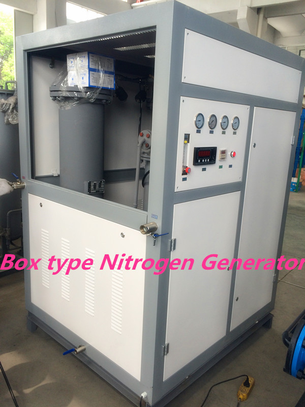Carbon Steel PSA Nitrogen Gas Generator Whole System For Food Storage