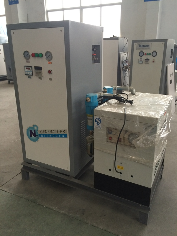 Automatic Food / Grain Packing Small Nitrogen Generator 570 * 570 * 950 mm