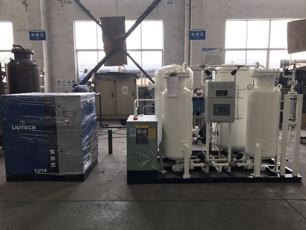 Pressure Swing Adsorption Nitrogen Complete System For Snack , Chips Packing Machine
