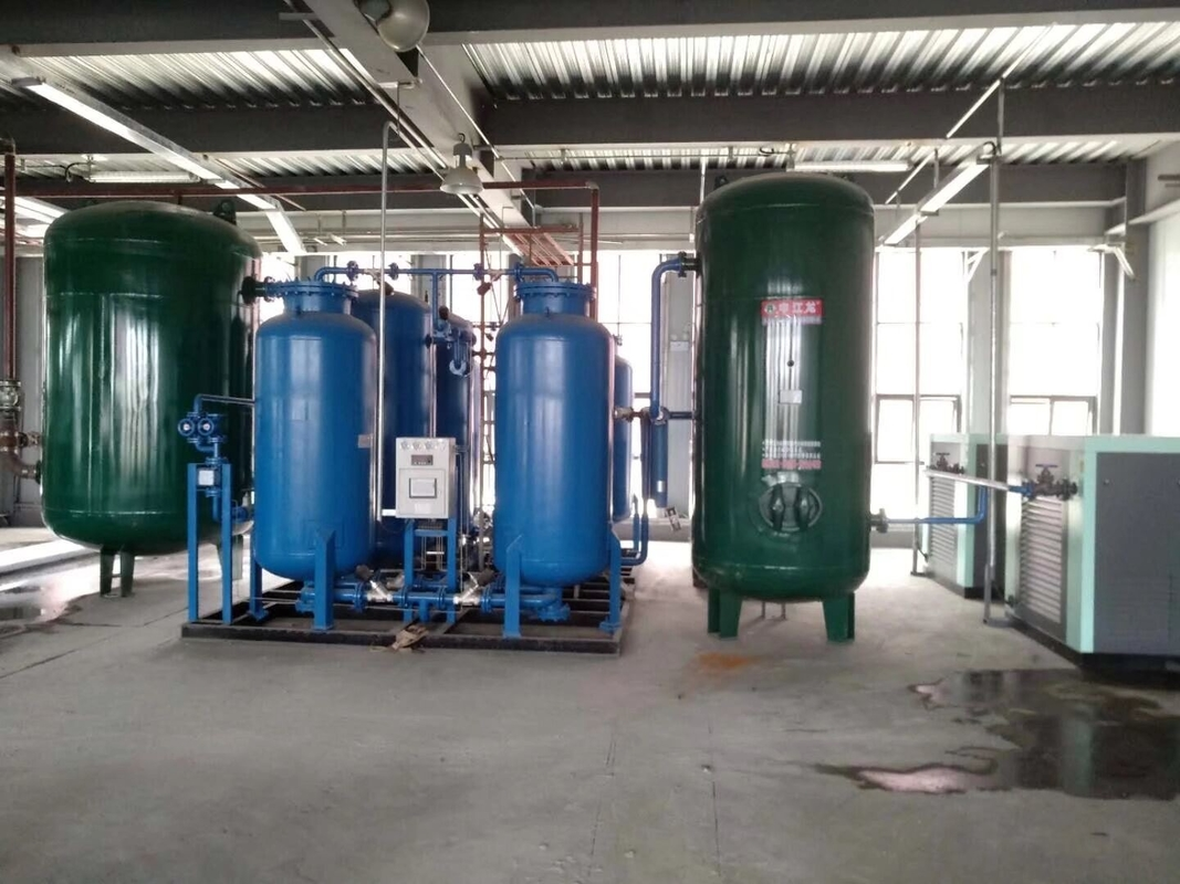 Full Automatic Control Industrial Nitrogen Generator For Atomize Aluminum Casting Usage